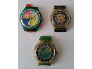 Orologi Collezione Swatch Anni 90 Senza Cinturino