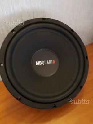 Subwoofer Mb quart 30cm e box