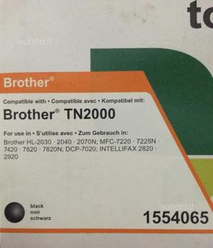 Toner compatibile con stampante brother tn