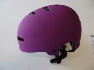 1 casco bici TGS mis.L-XL  viola nuovo