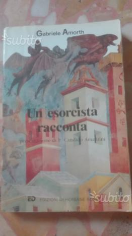 """2 libri al prezzo di 1 """"Un esorcista racconta """""""