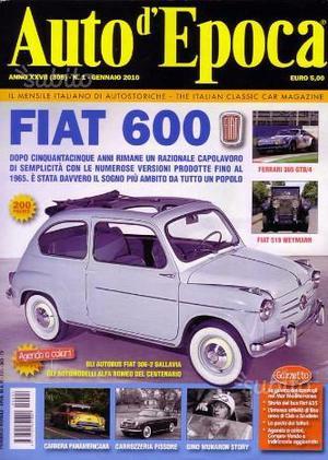 Auto d'epoca auto epoca rivista