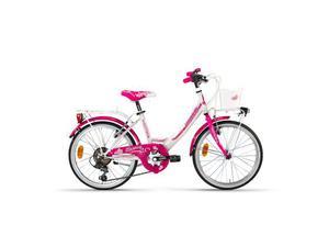 "Bici lombardo mariposa 20"" junior bicicletta bimba bambina"