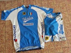 Completo ciclismo V.Nibali nazionale ITALIANA