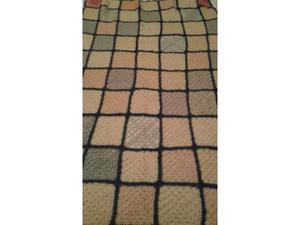 Coperta in lana ad uncinetto
