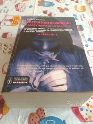 """Libro """"I cacciatori di vampiri"""" 5 in 1 come nuovo"""