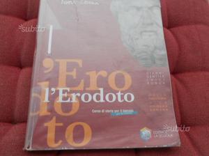 """Libro storia """" l'erodoto"""" usat ISBN"""