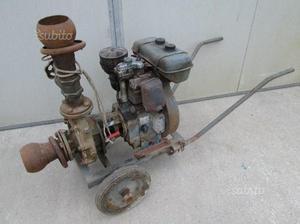 Motopompa per irrigazione