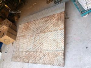 Rampa scivolo in ferro zincato posot class for Scivolo in ferro usato