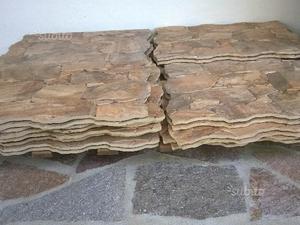 Piastrelle finta pietra naturale pavimenti per esterni in pietra