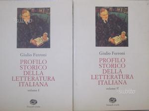 Profilo storico letteratura italiana G. FERRONI