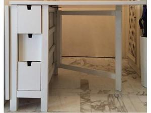 Tavolo console buffet ikea norden in legno posot class - Norden tavolo a ribalta ...