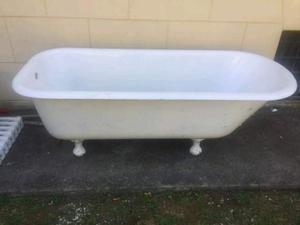Vasca Da Bagno In Lamiera Zincata : Vasca da bagno antica anni 50 in ghisa autentica posot class