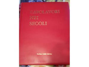 Capolavori nei secoli (, completa,10 volumi, Fabbri