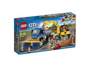 Lego  City - Great Vehicles Spazzatrice ed Escavatore