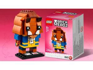 Lego  brick headz - la bella e la bestia: la bestia
