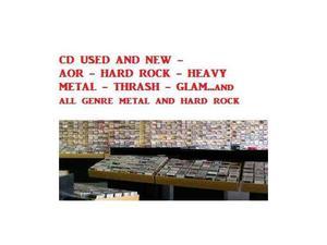 Lotti da 30 cd hard rock aor metal thrash