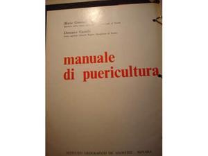 Manuale di puericultura De agostini
