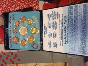 Monete divisionali fior di conio