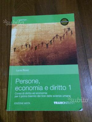 Persone, economia e diritto