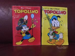 TOPOLINO Vol. I N. 1-3 - Ristampe