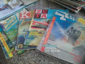 Vendo i numeri 1 di zzap, tgm, k, zeta - riviste di