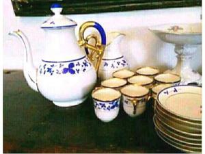 Antico set da caffe del 800