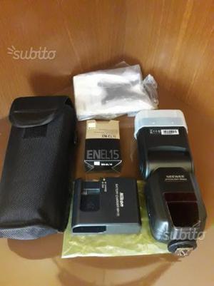 Batteria Nikon en el 15 + FLASH TTL + caricabatter