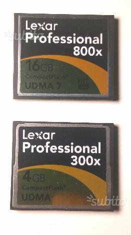 CF Compact Flash Professional 16GB + 4GB