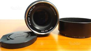 Carl Zeiss planar T 50 mm f 1.4 ZE attacco Canon