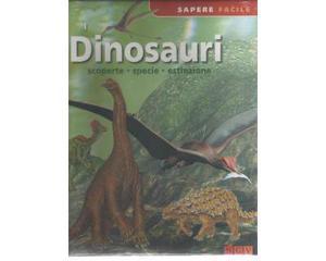 I dinosauri Scoperte specie estinzione. NUOVO INCELLOFANATO
