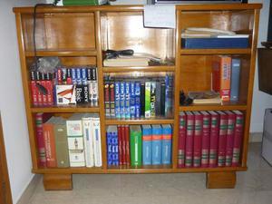 Libreria in legno massiccio anni  euro