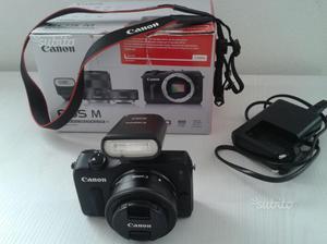Mirrorless - Canon Eos M, obiettivo EF-M 22mm F2,