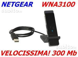 NETGEAR WNAPES adattatore USB WiFi 300Mb