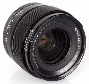 Obiettivo Fujinon xf 23mm f 1.4 Fuji fujifilm
