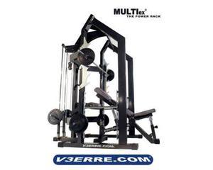 Power rack macchina attrezzatura palestra fitness v3erre