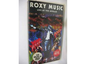"Roxy Music ""Live at the Apollo"" 1 vhs Warner PAL"
