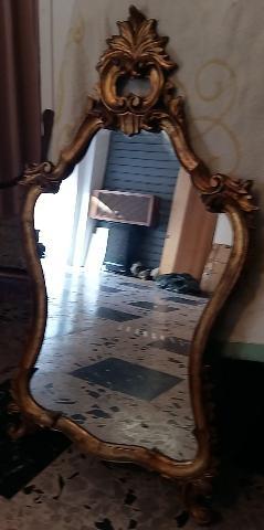 SPECCHIERA antica in legno