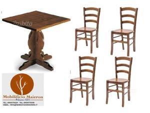 Tavoli E Sedie Da Pub : Sedie per ristorante in noce massello posot class