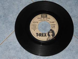 T-REX - TRUCK ON (TYKE) disco vinile 45 giri promo jukebox