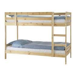 letto a castello in legno massello IKEA