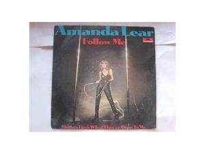 Amanda lear follow me 45 giri