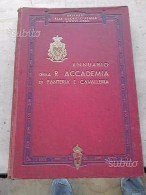 Annuario anni 50 accademia militare di MODENA