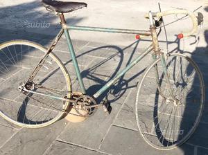 Bici corsa epoca eroica cambio 2 stecche