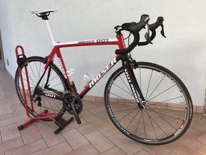 Bicicletta Corsa Moser 001 telaio carbonio Durace/Ultegra