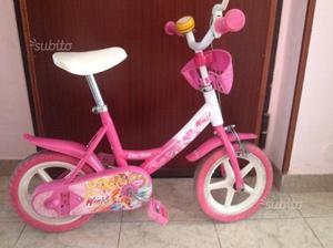 Bicicletta Winx 3/5 anni