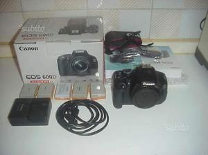 Canon 600d fotocamera digitale macchina foto set