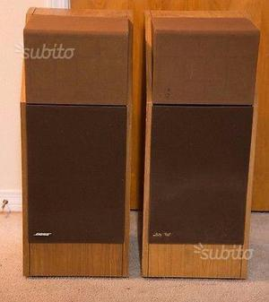 Coppia casse bose 601 vintage III serie