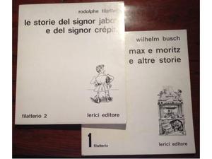 Filatterio 1 e 2 Lerici Editore