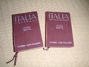 Guide rosse del TCI vecchie edizioni